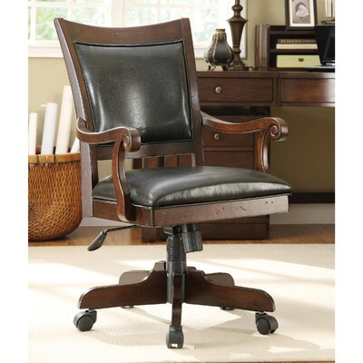 Riverside Furniture Castlewood Mid-Back Desk Chair with Arm