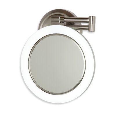 Tobias Dimmable Sunlight Wall Mirror by Wade Logan