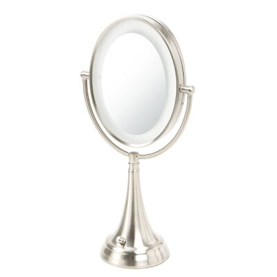 Oval Vanity Mirror with LED Surround Light by Zadro