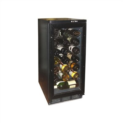 32 Bottle Dual Zone Freestanding Wine Refrigerator by Vinotemp