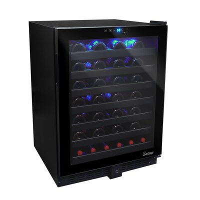 Butler 54 Bottle Single Zone Built-In Wine Refrigerator by Vinotemp