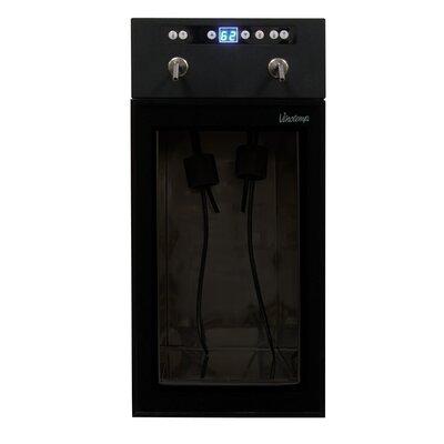 Vinotemp 2 Bottle Single Zone Built-In Wine Refrigerator