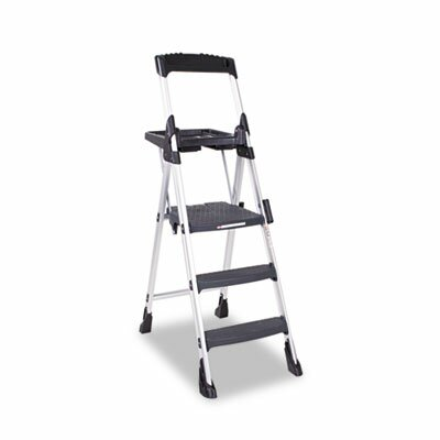 Cosco Home and Office World's Greatest 6 ft Aluminum Folding Step Ladder with 300 lb. Load Capacity