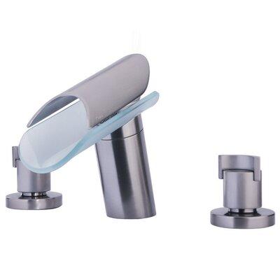 Morgana Double Handle Deck Mount Roman Tub Faucet Trim Grip Handle Product Photo