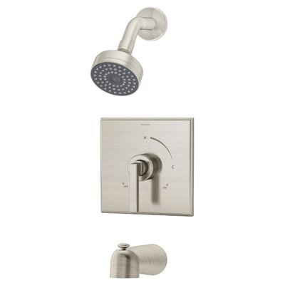 Duro Tub and Shower Trim with Lever Handle Product Photo