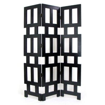 76 H X 54 W Albertson 3 Panel Room Divider Wayfair