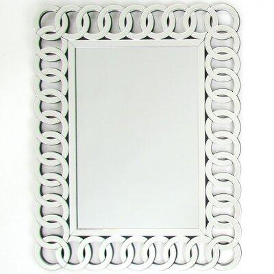 Rectangle Beveled Wall Mirror by Wayborn
