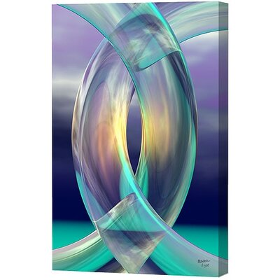 Aqua Rings Limited Edition by Scott J. Menaul Graphic Art on Wrapped Canvas by Menaul ...