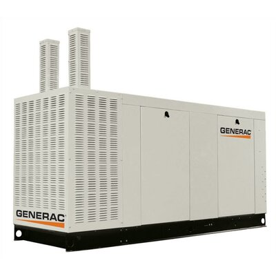 130 Kw Liquid-Cooled 542 Amp Single Phase 120/240 V Natural Gas Standby Generator with CSA, ...