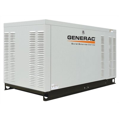 22 Kw Liquid-Cooled Single Phase 120/240 V Standby Generator in Aluminum by Generac