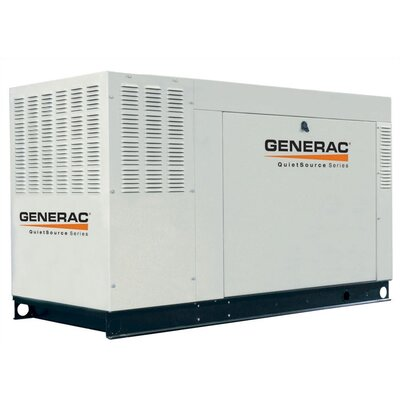 36 Kw Liquid-Cooled Single Phase 120/240 V Standby Generator in Alumimum by Generac
