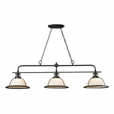 Wilmington 3 Light Kitchen Island/Billiard Pendant by Elk Lighting