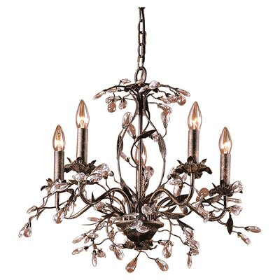 Circeo Candle 5 Light Chandelier Product Photo