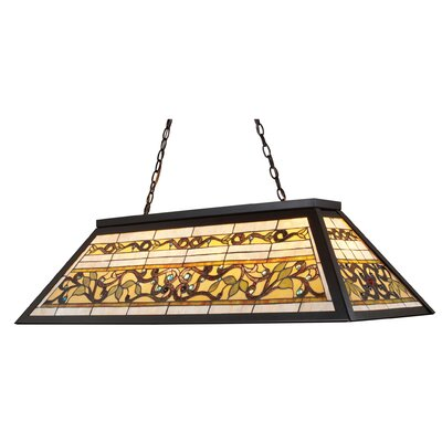 Tiffany Buckingham 4 Light Pool Table Light by Elk Lighting