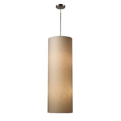 Fabric Cylinders 4 Light Pendant by Elk Lighting