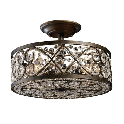 Amherst 4 Light Semi Flush Mount Product Photo