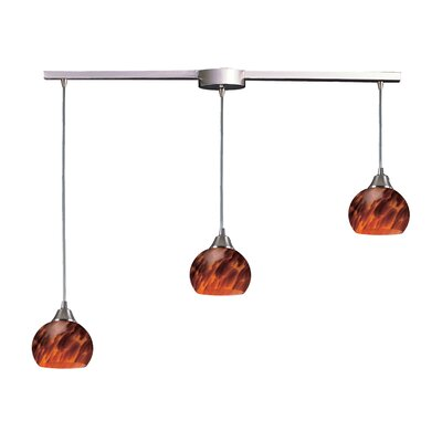 Mela 3 Light Linear Pendant Product Photo