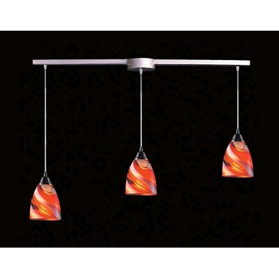 Elk Lighting Pierra 3 Light Linear Pendant