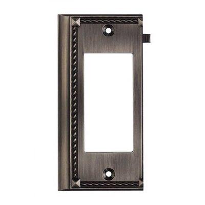 Elk Lighting Clickplates Large End Switch Plate in Antique Platinum