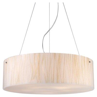 Elk Lighting Modern Organics 5 Light Drum Pendant