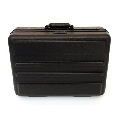 Platt Premium Polyethylene Tool Case with Recessed Hardware in Black: 13 x 18 x 6