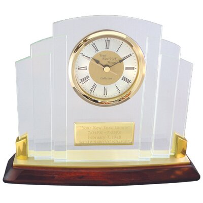 """Chass """"Your New York Minute"""" Clock"""