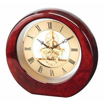 DaVinci See Thru Desk Clock by Chass