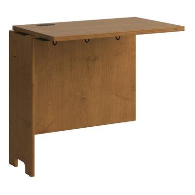 "Bush Furniture Envoy Computer 30.2"" H x 32"" W Front Desk Return"