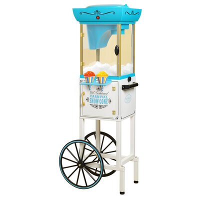 Vintage Collection Snow Cone Cart by Nostalgia Electrics