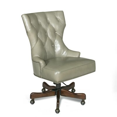 Leather Swivel Chair by Hooker Furniture