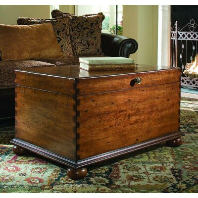 Hooker Furniture Coffee Table Trunk With Lift Top Reviews Wayfair