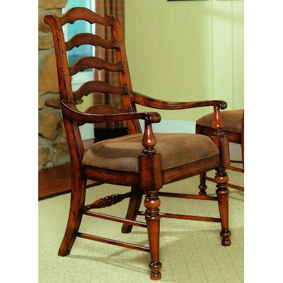 Waverly Place Ladderback Arm Chair by Hooker Furniture