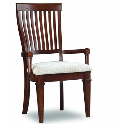 Abbott Place Slat Back Arm Chair by Hooker Furniture