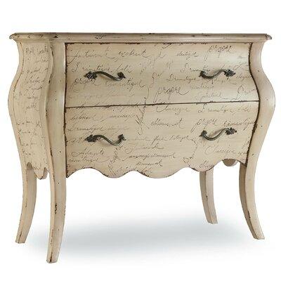 Melange L'Inspiration Script 2 Drawer Chest by Hooker Furniture