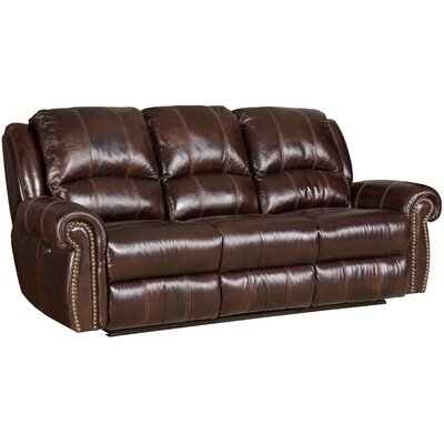 Power Motion Leather Sofa by Hooker Furniture