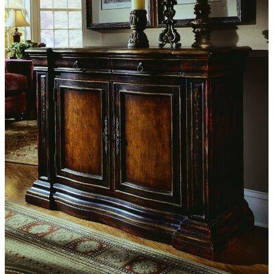 Hooker Furniture Decorator 2 Drawer 2 Door Chest