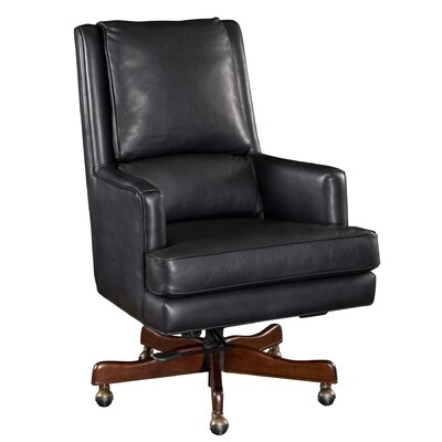 Leather Tilt Swivel Executive Chair by Hooker Furniture