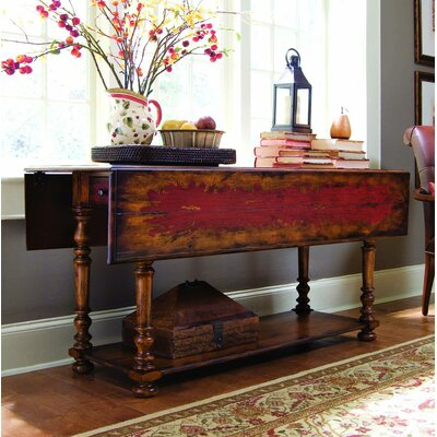 Hooker Furniture Seven Seas Drop Leaf Console Table