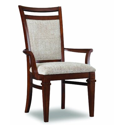 Abbott Place Upholstered Back Arm Chair by Hooker Furniture