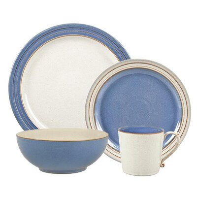 Heritage Fountain 4 Piece Place Setting by Denby