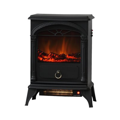 Vernon 120 Square Foot Electric Fireplace Stove by Fire Sense