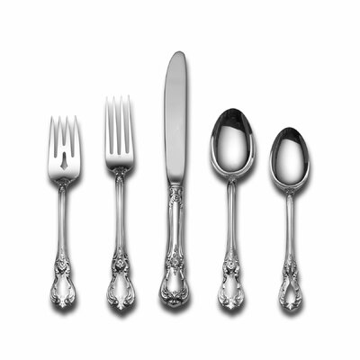 Towle Silversmiths Sterling Silver Old Master 46 Piece Flatware and Serving Set