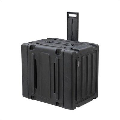 """SKB Cases 8U Roto Rolling Shock Rack Case - 20"""" Deep"""