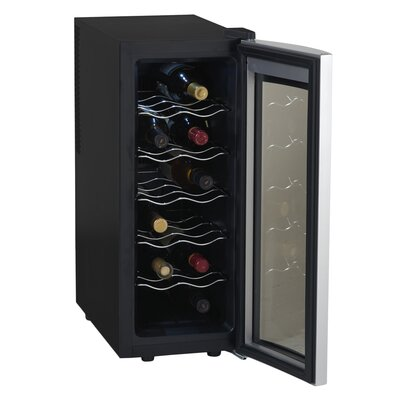 12 Bottle Single Zone Freestanding Wine Refrigerator by Avanti