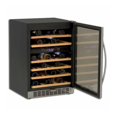 Avanti Products 46 Bottle Dual Zone Freestanding Wine Refrigerator