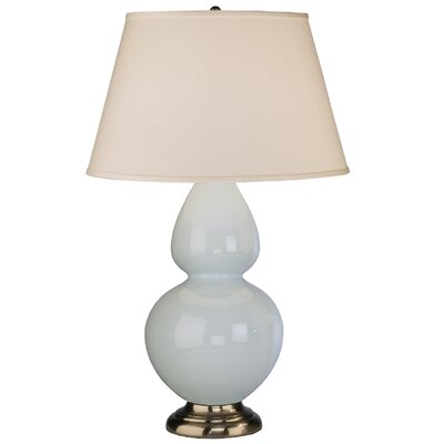 "Robert Abbey Double Gourd 31"" H Table Lamp with Empire Shade"