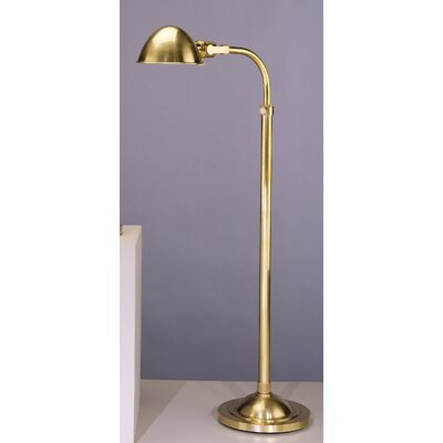 robert abbey alvin adjustable pharmacy floor lamp. Black Bedroom Furniture Sets. Home Design Ideas