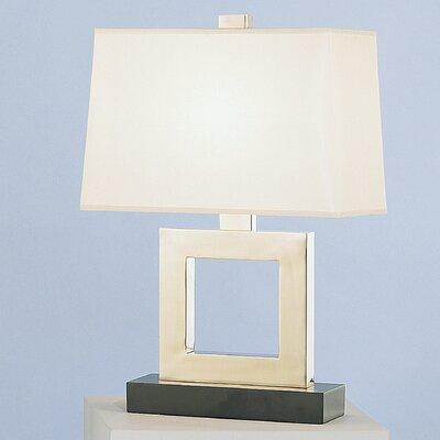 "Robert Abbey Doughnut Duncan 20.75"" H Table Lamp with Rectangular Shade"