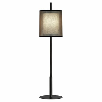 """Robert Abbey Saturnia Buffet 32.5"""" H Table Lamp with Drum Shade"""