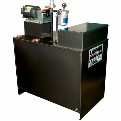 Lanair Products, LLC 300,000 BTU Ceiling Mounted Forced Air Cabinet Heater with Wall Chimney
